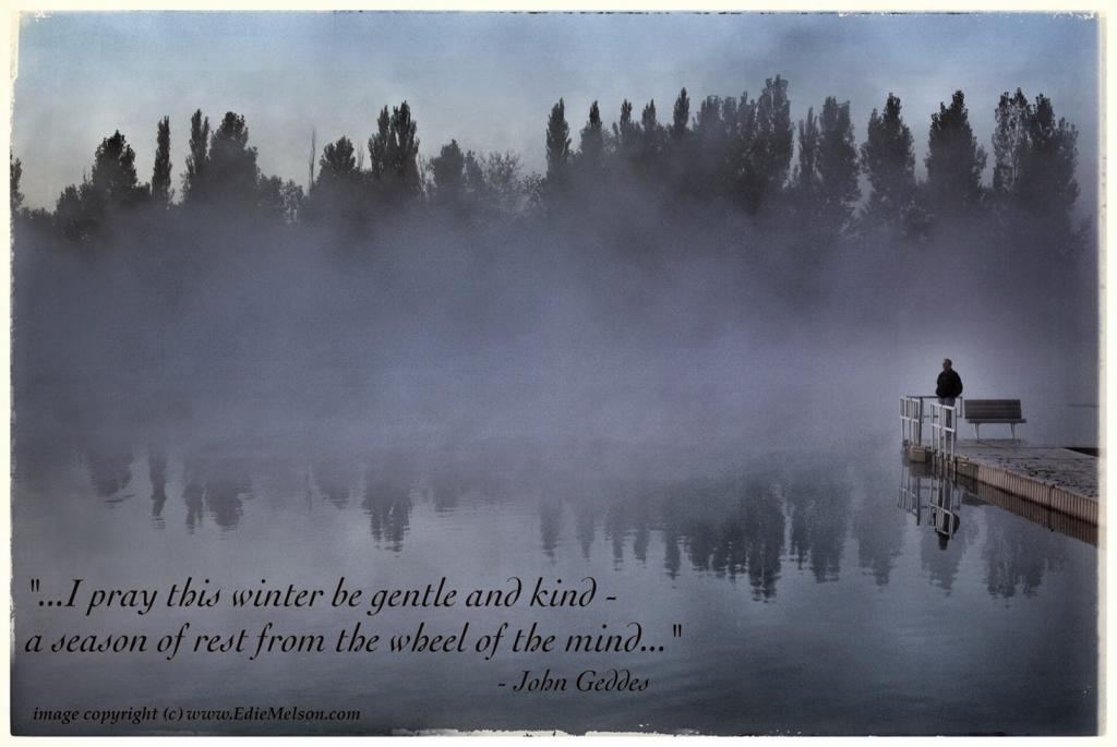 calm of winter 2
